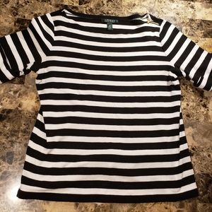 Lauren Ralph Lauren striped ladies top